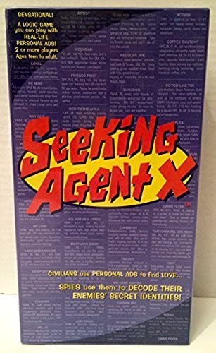 Seeking Agent X; the Logic Game You Play with Real-life Personal Ads  by Seeking Agent X
