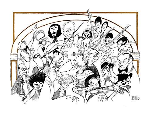 Al Hirschfeld's CARNEGIE HALL, THE 100th ANNIVERSARY Hand Signed Limited Edition Lithograph Featuring Tchaikovsky, Marion Anderson, Jascha Heifetz, Mstislav Rostropovich, Arthur Rubinstein, Vladimir Horowitz, Toscanini, Benny Goodman, Leonard Bernstein, Isaac Stern, Maria Callas, Leontyne Price, The Beatles, Judy Garland, Liza Minnelli, Aaron Copland, Van Cliburn, Frank Sinatra, and Pablo Casals