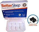 Best Ear Plugs For Small Ear Canals - Better Sleep Moldable Silicone Earplugs for Sleep, Swimming Review