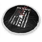 WETG - Falda para árbol de Navidad con Bandera Estadounidense jubilada para decoración de Año Nuevo, decoración Festiva para Fiestas, Negro, 36 Pulgadas