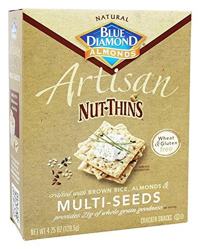 Blue Diamond Growers - Artisan Nut Thins Multi-Seeds - 4.25 oz (pack of 2)