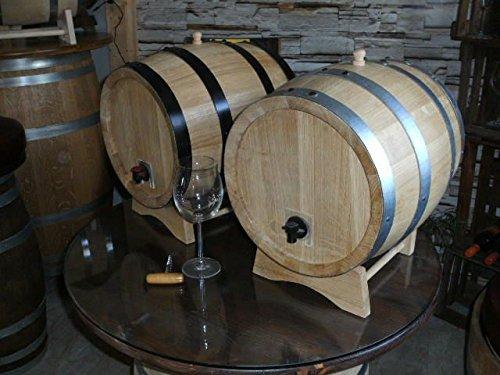 JUNIT 3- und 5-Liter Bag in Box - Fass rund, Eichenfass, Weinfass, Hol