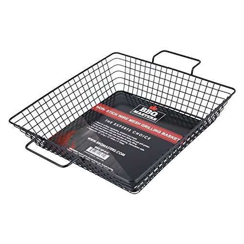 BBQ Masters Non-Stick Wire Mesh Grilling Basket