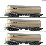 Fleischmann 849102 3-TLG. Set de caldera de gas VTG