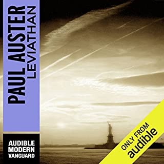 Leviathan                    By:                                                                                                                                 Paul Auster                               Narrated by:                                                                                                                                 Peter Ganim                      Length: 9 hrs and 40 mins     86 ratings     Overall 4.1