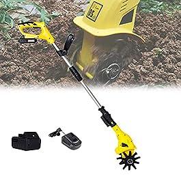 Motobineuse électrique Bineuse électrique Taber électrique de jardin réglable, mini brochette de poche Earthwise…