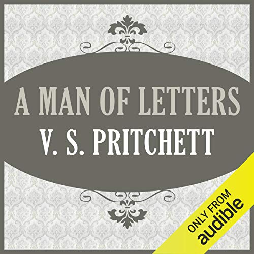 A Man of Letters audiobook cover art