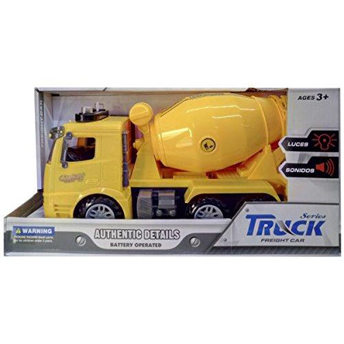 Dimasa Camion hormigonera friccion , luz y Sonido Azul o Amarillo (Surtido)