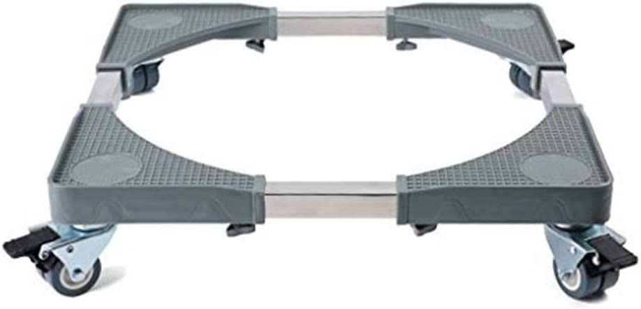 SXRDZ Movable Adjustable Miami Mall Base with Locking service Swivel Rubber Wheels