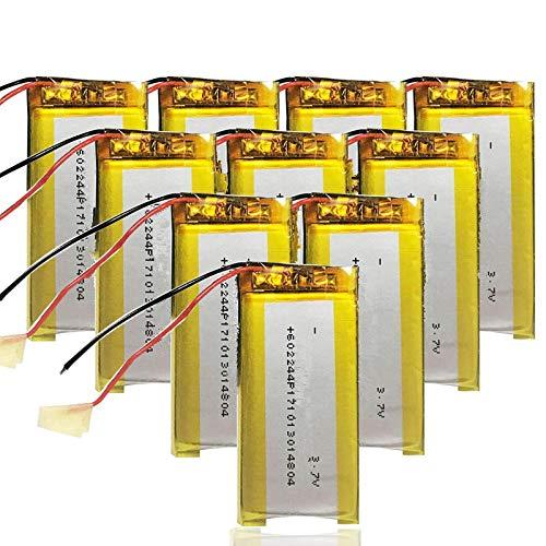 Grehod Batería de polímero de Litio Recargable de 3,7 v 600 mAh...