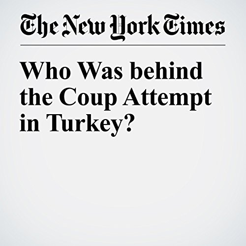 Who Was Behind the Coup Attempt in Turkey? audiobook cover art