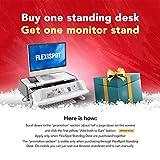 Flexispot E5B Höhenverstellbarer Schreibtisch Elektrisch höhenverstellbares Tischgestell, 3-Fach-Teleskop, passt für alle gängigen Tischplatten. Mit Memory-Steuerung und Softstart/-Stop - 3