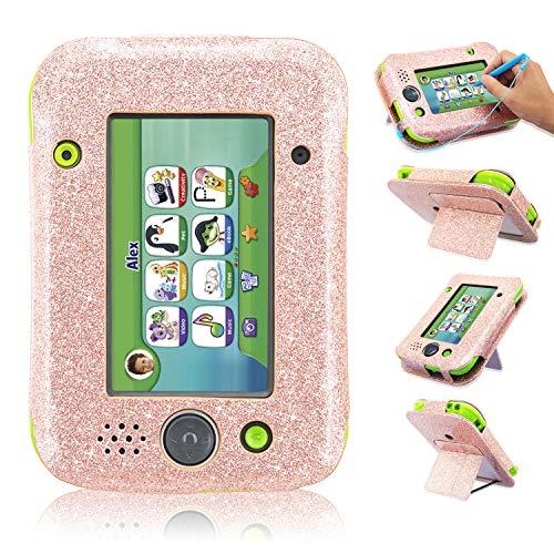 Leapad Jr Case, ACcolor lederen Tablet Case voor Leapad Jr kinderen leren Tablet (2018 release),