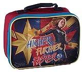 Marvel Girls Captain Marvel Higher Further Faster Lunch Bag (Captain Marvel)