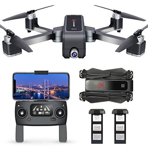 YOLL RC Quadrocopter Faltdrohne,GPS Drohne mit 4k HD Kamera,5G WiFi FPV Live Übertragung,250M Reichweite,120 ��Weitwinkel,Follow-Me,App-Steuerung,25Minuten Flugzeit,ür Anfänger/B