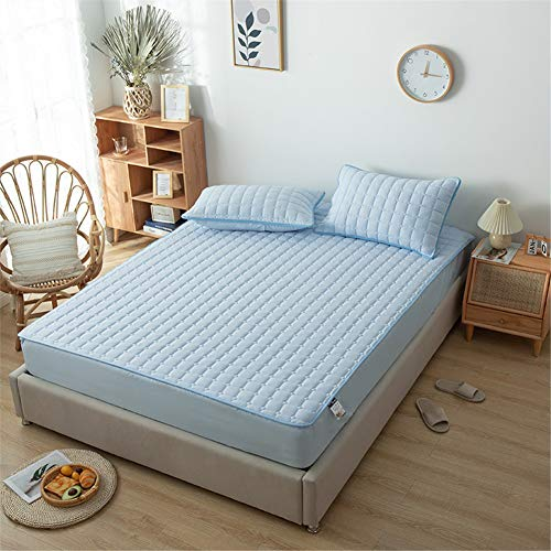 YCDZ Mattress Protective Cover, Anti-allergic, Breathable, Anti-bugs and Mites, No Odor, Suitable for All Bed Types (Sunny,180x200x30cm)