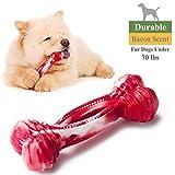 Haltbares Hunde kauspielzeug für aggressive Kauer mit Bacon Duft