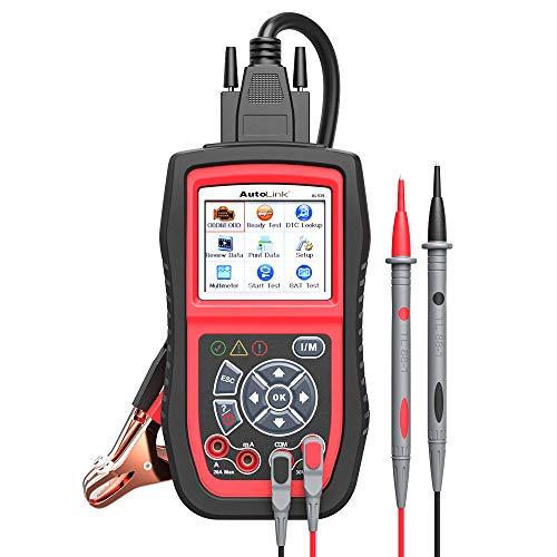 Autel AL539B OBD2 Scanner 3-in-1 Code Reader Battery Tester Avometer for 12 Volts Batteries, Full...