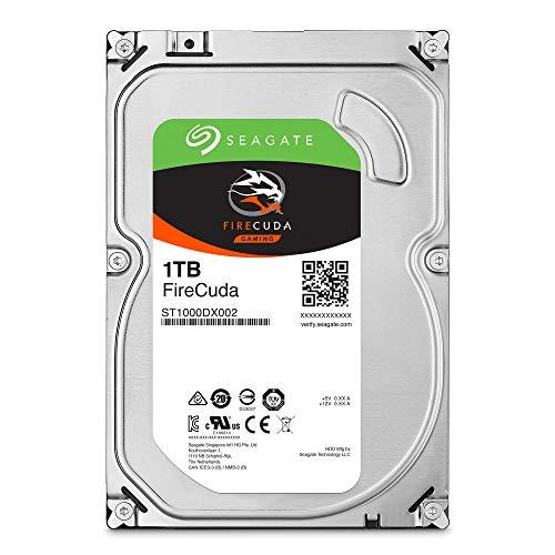 Seagate FireCuda 1TB Solid State Hybrid Drive Performance SSHD – 3.5 Inch Sata 6Gb/s Flash...