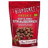 Biopocket - Fresas ecológicas secas y tiernas, 375 g
