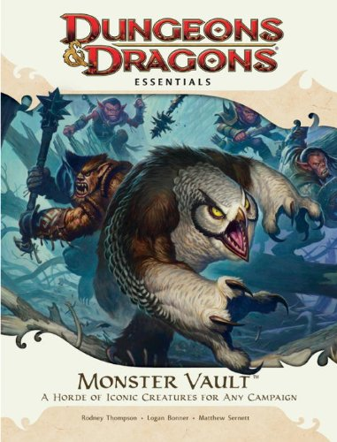 Wizards of the Coast Monster Vault: an Essential Dungeons & Dragons Kit