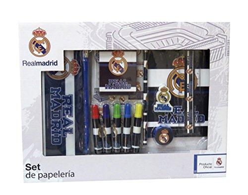 Real Madrid GS-500-RM Set de Papelería, 20 piezas