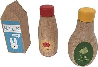 おままごと セット 木製 ごっこ キッチンウェアセット 知育おもちゃ 出産祝い 親子遊び 3点セット