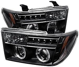 Spyder Auto Toyota Tundra Black Halogen Projector