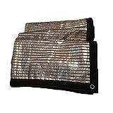 WJGJ Sonnenschutz, Planenschutznetz,Tarpaulin Shading Net Reflektierende Aluminiumfolie Sonnenschutz...
