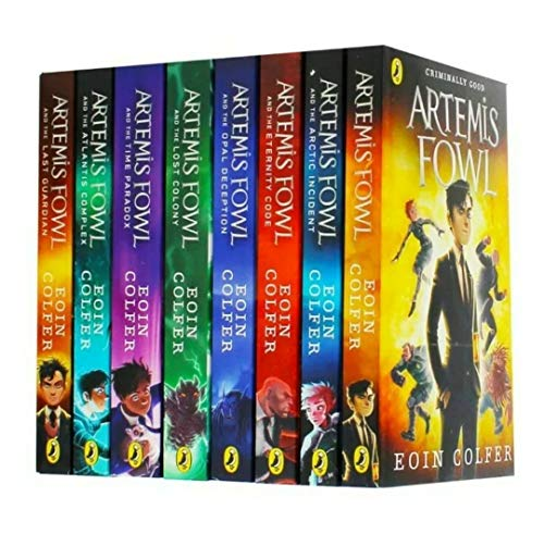 Artemis Fowl: 8 Book Collection
