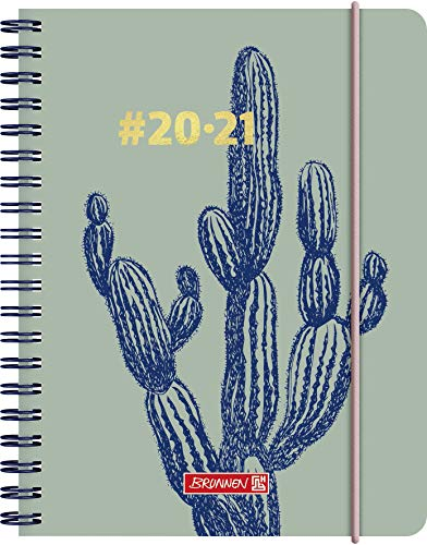 BRUNNEN 1071850021#Harmony Cactus - Agenda escolar semanal...