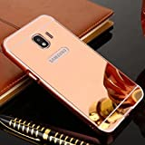 Galaxy 2018 A8+Plus Case, Shiny Awesome Make-up Mirror