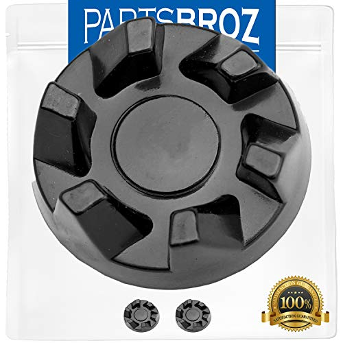 9704230 Blender Drive Coupling (2-Pack) by PartsBroz - Compatible with Kitchen Aid Blenders - Replaces Part Numbers WP9704230, AP6013694, PS11746921, WP9704230VP