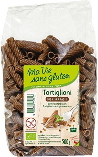 Ma Vie Sans luten Tortiglioni 100% Sarrasin 0.5 g 1 Unité