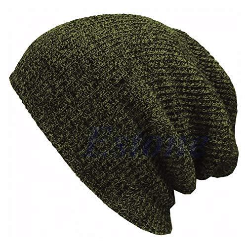 Muts hip hop gebreide muts vrouwen winter warm casual acryl slouchy hoed haken ski beanie hoed vrouwelijk zachte baggy scullies mutsen mannen