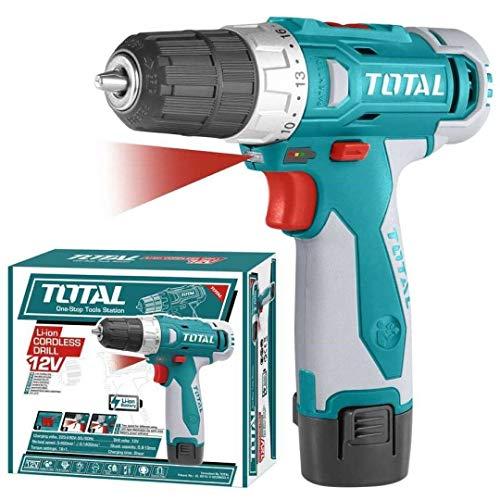 Taladro atornillador 12 V Basic Tdli228120-1 Total