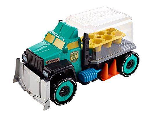 Mattel DML57 - Spielzeugfahrzeug (Mehrfarbig, LKW, Matchbox, Grow Pro Truck, ab 3 Jahren, Thailand)