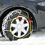 Cartrend 7848290 Catena da neve set di 2 'Safety' Dimensioni 90