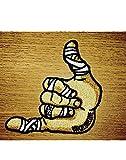 Shaka Hand BJJ Brasileño Jiu-Jitsu Parche bordado
