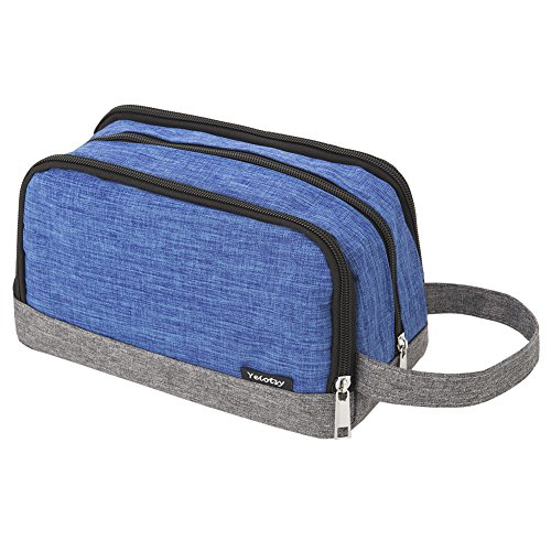 Kids Wash Bag, Yeiotsy Color Clash Portable Travel Toiletry Bag for Children