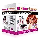 K-Cheratina Color Repair - Kit de Tratamiento Profesional de Queratina para Cabello Teñido -...