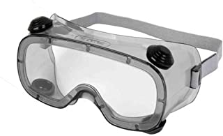 JZWDMD Lightweight, Indirect Vent, Child Size/Small Face Protective Safety Goggle, Anti-Fog Coating, Clear Lens, Adjustable Strap