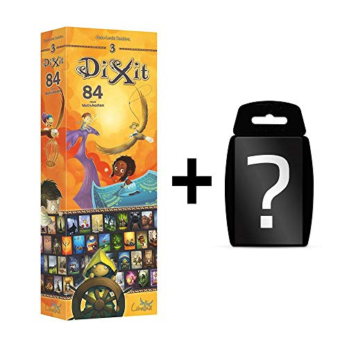 DIXIT - 3 Journey - Erweiterung | DEUTSCH | Erweiterung vom Spiel des Jahres 2010 | Set inkl. Kartenspiel
