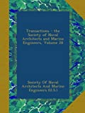 Transactions - the Society of Naval Architects and Marine Engineers, Volume 28