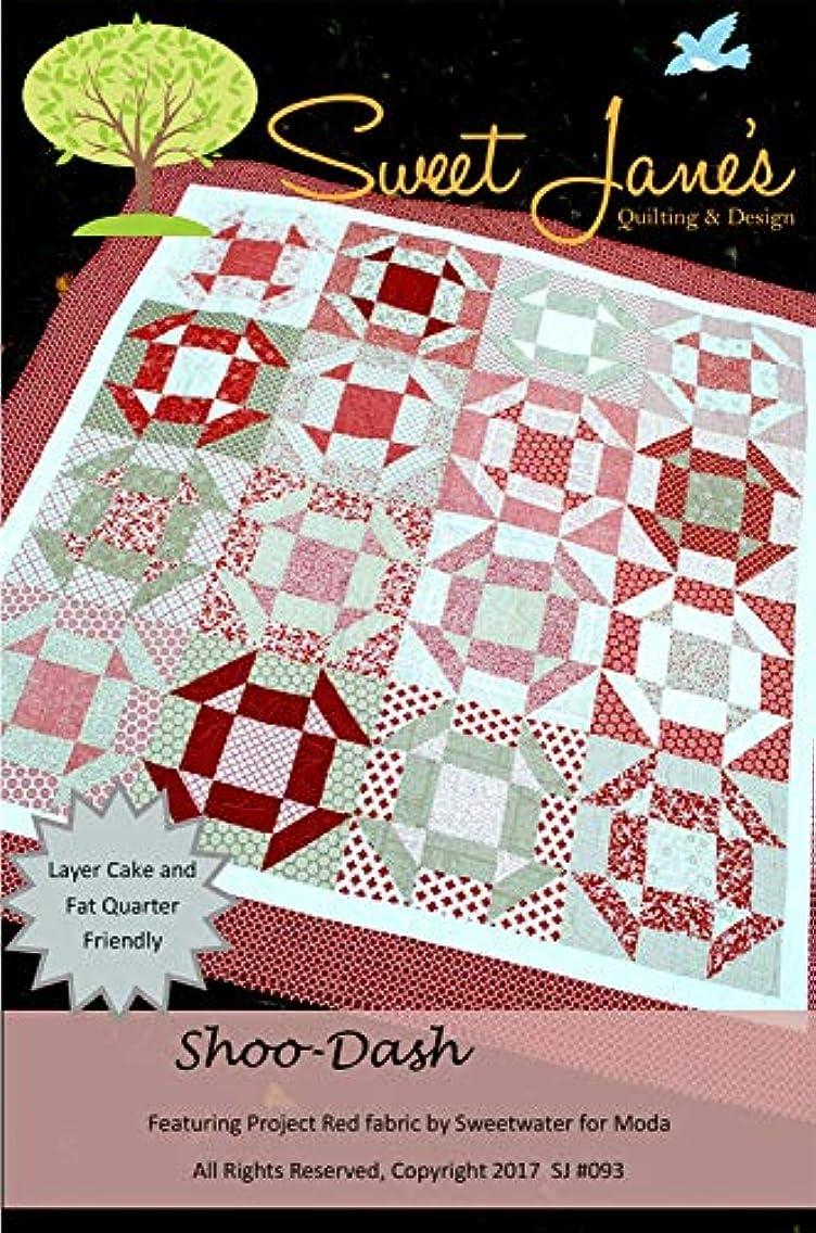 Sweet Jane's Quilting & Design SJ093 Shoo Dash Pattern