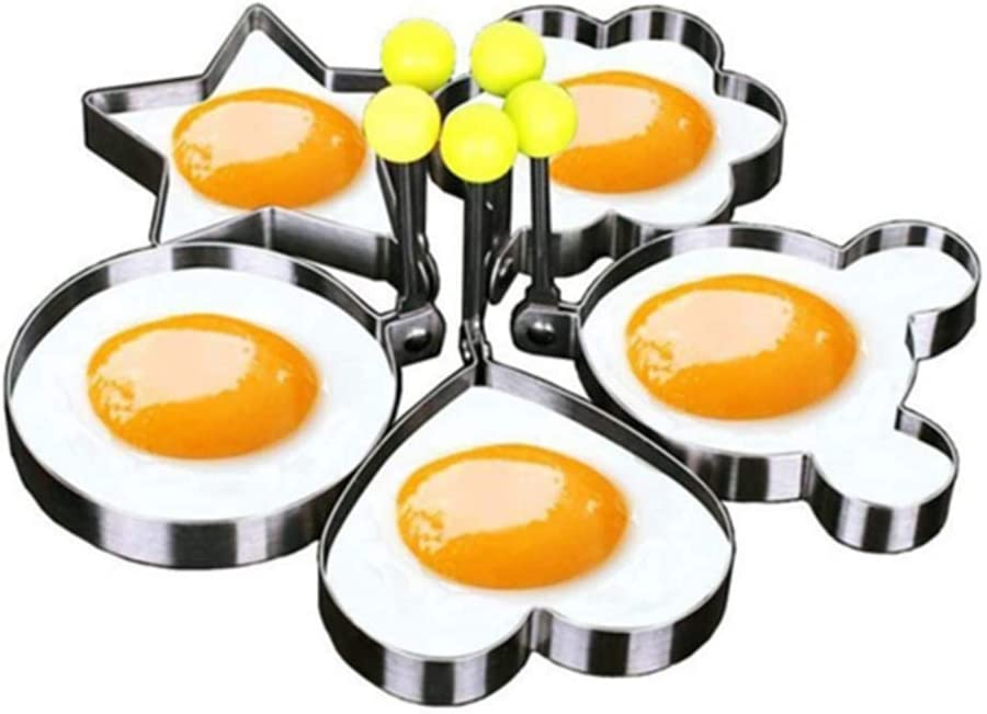 CulturePRN Stainless Steel BBQ Fried Mould Pancake Mo Egg Shaper OFFicial San Jose Mall