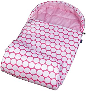 Wildkin Kids Stay Warm Sleeping Bag for Boys and Girls, Perfect Size for Slumber Parties, Camping, and Overnight Travel, Patterns Coordinate with Our Duffel Bags
