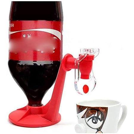 Big Bargain Store 水 飲むジュース 逆さまのソーダディスペンサー コーヒー 創造的なホームパーティーキッチンツールの素晴らしいアイデア-赤 ソーダ飲料を楽しむ&スイッチ圧力でソーダフィズを維持