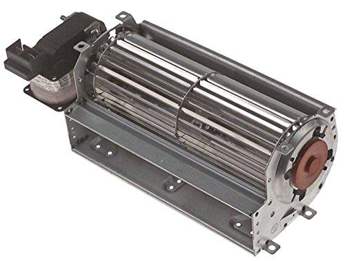Querstromlüfter FFL180/20-1RFN HT 25W Walze ø 60x180mm Motor links 230V 50Hz Anschluss Flachstecker 6,3mm 20mm universal links