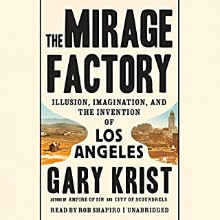 The Mirage Factory audiobook cover art